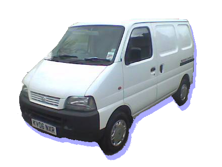 Suzuki Carry Van as used by P.A.Tame PAT Testing